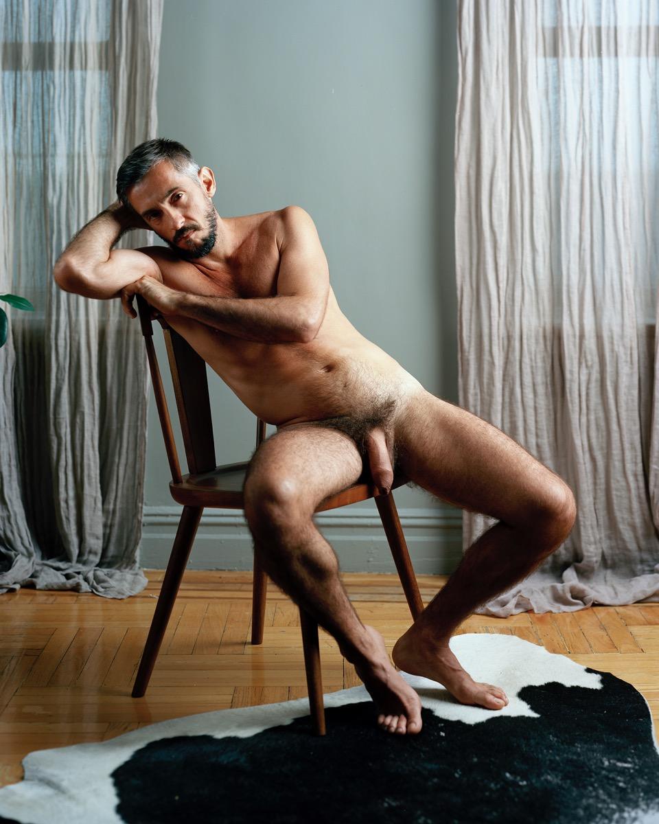 Photo d'un homme nu de 42 ans